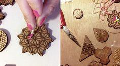 Fabriqué en France, découpé et gravé au laser, assemblé à la main, le bijou fantaisie retrouve ses lettres de noblesse près de Nice, dans l'atelier des Petites Découpes. Mixant les matières comme le bois, le plexiglas ou la feutrine, Julie et Lora dessinent elles-mêmes les bijoux avant de les fabriquer. Leur atelier est en effet spécialisé dans les découpes et gravures sur-mesure pour réaliser toute sorte d'objets de décoration, bijoux,…