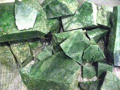 Nephrite and Jadeite | View Product Details: Jade (Jadeite) Roughs Natural
