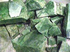 Nephrite and Jadeite | View Product Details: Jade (Jadeite) Roughs Natural