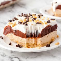 The Lazy Cooking Bundle - 50% Off Peanut Butter Lasagna, Peanut Butter Dessert Recipes, Peanut Butter No Bake, Lemon Dessert Recipes, Custard Recipes, Pie Recipes, Fun Desserts, Cooking Recipes, Entree Recipes