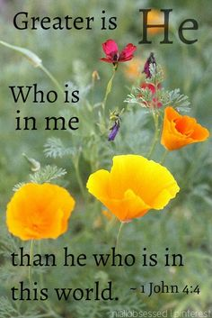 Sewn With Grace   GREATER IS HE WHO IS IN ME THAN HE WHO IS IN THIS WORLD 1 JOHN 4:4
