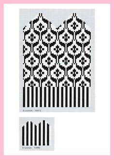 Knitted Mittens Pattern, Knit Mittens, Knitted Gloves, Knitting Socks, Baby Knitting, Intarsia Patterns, Fair Isle Knitting Patterns, Knitting Machine Patterns, Knitting Charts