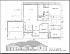 965 Northeast Providence Way, Grants Pass, OR 97526 Free House Plans, House Floor Plans, Grants Pass, Tumi, Estate Homes, Bungalow, Real Estate, Layout, How To Plan