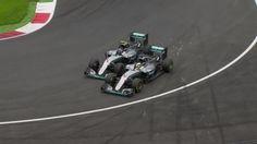 Großer Preis von Österreich: Team-Krieg! Hamilton siegt nach Crash mit Rosberg - Formel 1 - Bild.de