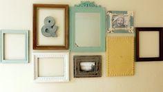 Vintage wall display.