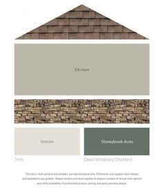 Image result for taupe cedar red brown brick