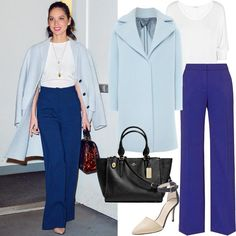 Celebrities Show Us How to Wear Spring Trends Now - Spring Trend: Wide-Leg Pants from #InStyle