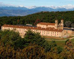 Monasterio nuevo y hospederia de San Juan de la Peña. Jaca (Huesca). Spain. .... EMPTY....