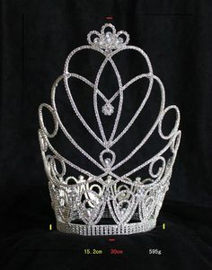 alibaba large small crowns | ... Buy Pageant Crown,Rhinestone Crown,Big Crown Product on Alibaba.com