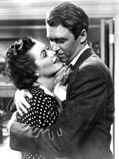 """Jimmy Stewart and Barbara Hale in """"The Jackpot"""" (1950)"""