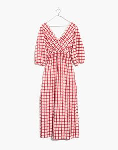Mara Hoffman Nami Cover-Up Dress in Poppy Plaid Retro Look, Mode Outfits, Ethical Fashion, Diy Clothes, Pretty Outfits, Dress Making, Spring Summer Fashion, Dress To Impress, Street Style