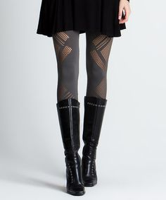 Another great find on #zulily! Charcoal Laser-Cut Seamless Leggings #zulilyfinds