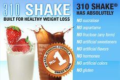 310 shake diet plan