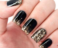 Glitter Ombré Tutorial—Quick Nails!