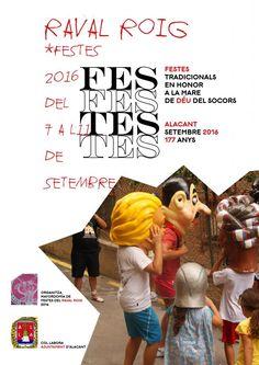 Fiestas Tradicionales del Raval Roig 2016 | Ayuntamiento de Alicante
