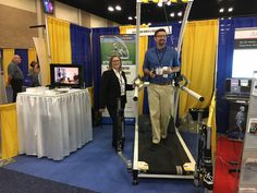 The APTA CSM in San Antonio, Texas, USA started off with 11,000 attendees! It was a great day for h/p/cosmos, touching base with trusted customers and getting to know many new contacts. We look forward to the rest of the meeting! Come see us at our booth # 2055 and see the patented robowalk Active Gait Correction System featuring pluto treadmill and airwalk ap unweighting (BWS Body Weight Support) system! https://youtu.be/Rh67yf2Uphw