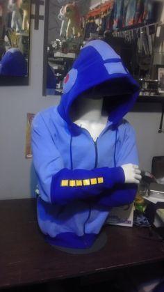 Megaman Hoodie by SugarJubilee on Etsy,