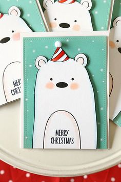 Bear Christmas Cards for your Baylor loved ones!