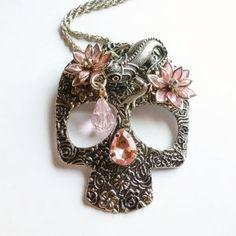 sugar skull jewelry - Google Search