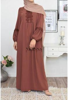 modest fashion modest lace dress best choice of muslim dress summer muslin dress for veiled women aid and ramadan dress cheap fast shipping Modest Outfits Muslim, Pakistani Dresses Casual, Muslim Dress, Modesty Fashion, Abaya Fashion, Fashion Dresses, Modest Lace Dress, Modest Dresses, Abaya Designs