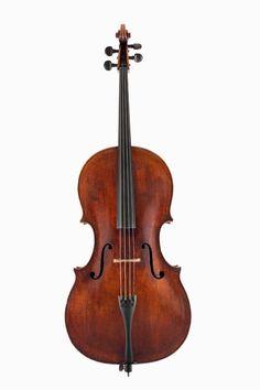 Cello by Giovanni Baptista Rogeri, Brescia, c.1690