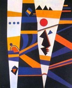 Connection 1932 Canvas Art - Wassily Kandinsky x Wassily Kandinsky, Matisse, Abstract Painters, Abstract Art, Franz Marc, Mondrian, Z Arts, Arte Popular, Art Moderne