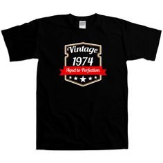 40th Birthday Gift Ideas ANY YEAR Funny T Shirt Gifts by TRexTees