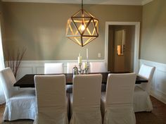 http://podchulo.com/wp-content/uploads/2014/04/Outstanding-diy-dining-room-ideas-with-white-canvas-cover-chair-burnet-parson-chair-white-cha...