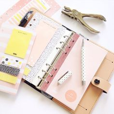 """""""Can we just take a moment to appreciate the beauty of this Nude Original Filofax? I'm kind of scared to take it out of the house though! """""""