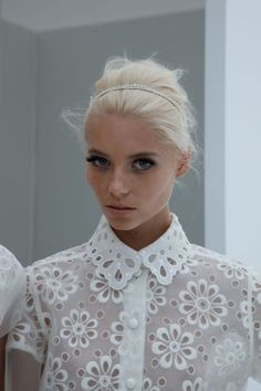 Oversized eyelet dreams. Louis Vuitton 2012.