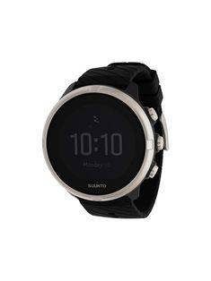 Suunto 9 Watch In Black Gps Navigation, Sport Watches, The Great Outdoors, Black Silver, Watch Women, Monster Musume, Military, 100m, Sports
