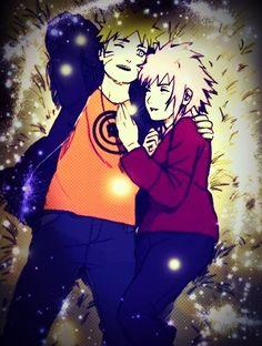 Sakura hug Naruto /NaruSaku Shippuden