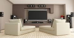 Small Home Theatre Design Interior Outstanding Home Theater Interior Design With Maple Wooden Slatted Flooring . Theater Room Decor, Home Theater Room Design, Home Theater Rooms, Theatre Design, Home Theatre, Home Design, Design Ideas, Living Room Theaters, Home Theater Installation