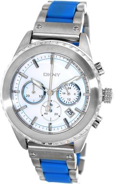 DKNY Women's Silver Analog Watch NY8762 ewatchesusa.com