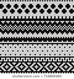 Knitted abstract seamless pattern The Effective Pictures We Offer You About fair isle knittings char Fair Isle Knitting Patterns, Knitting Charts, Loom Knitting, Knitting Stitches, Knitting Designs, Baby Knitting, Tejido Fair Isle, Punto Fair Isle, Motif Fair Isle