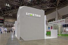 "IT-week JAPAN 2012 ""SYMMETRIC"" booth, TOKYO, 2012"