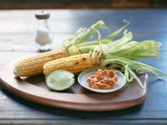 Corn on the Cob with Butter Rub from CookingChannelTV.com