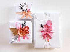 giochi di carta: gift wrapping for Scrappinize Magazine