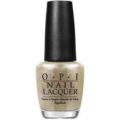 OPI Nail Lacquer ($19) ❤ liked on Polyvore featuring beauty products, nail care, nail polish, nail color, opi, opi nail care y glitter nail polish