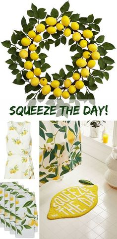 farmhouse bathroom trends Lemons are everywhere! On clothing, towels, dishes, shower curtains and mo Bathroom Trends, Bathroom Spa, Bathroom Colors, Bathroom Ideas, Kitchen Trends, Master Bathroom, Beige Bathroom, Bathroom Photos, Bathroom Stuff