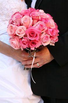 Wedding, Flowers, Pink