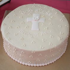 buttercream baptism cake - Google Search