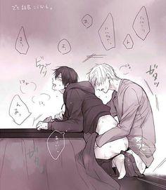 ignoring homework to post yaoi #yaoi #hardyaoi #yaoisex #boyxboy #boyslove #makoharu