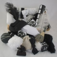 Black and White Basket | Fine Solutions