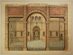 Imagerie d'Épinal, No 1636. Grand Théâtre Nouveau. Fond de Prison.