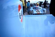 LeMans 1971 Gulf Porsche 917LH Rodriguez & Oliver