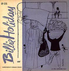 Billie Holiday, illus David Stone Martin