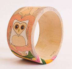 Feathered Wisdom Spirit Guide Bracelet van INKNJOY op Etsy, $35.00