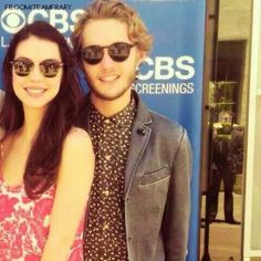 Reign - Adelaide and Toby Life Pictures, Reign, Behind The Scenes, Round Sunglasses, Image, Beautiful, News, Fashion, Moda