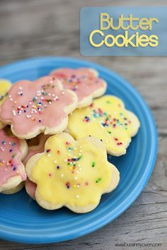 Butter Cookies= yummy cookies!